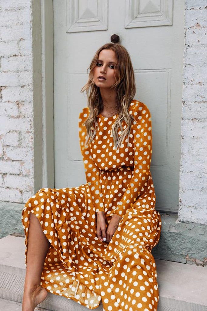 Polka Loca Dot Dress - S-XL - 3 Colors