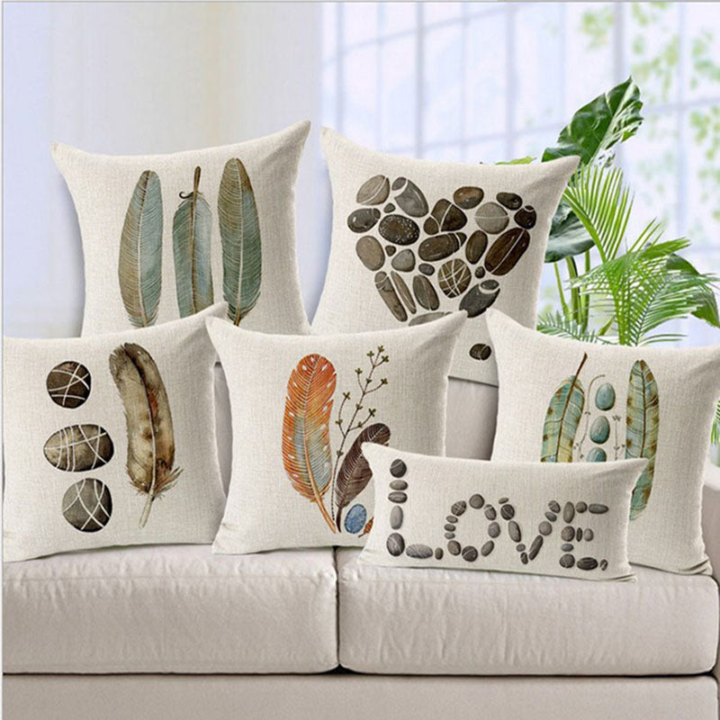 Naturals decorative sofa pillowcase Collection - 7 Styles