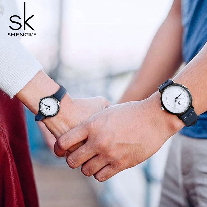 Men / Women Couples Matching Analog Quartz Wrist Watches Set or Separate - 2 Colors - 2 Sizes