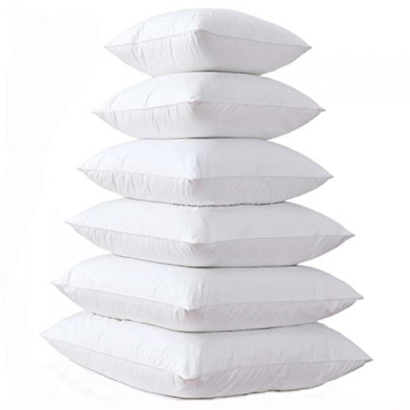 Pillow Core Cotton Insert for Pillows - 9 Sizes
