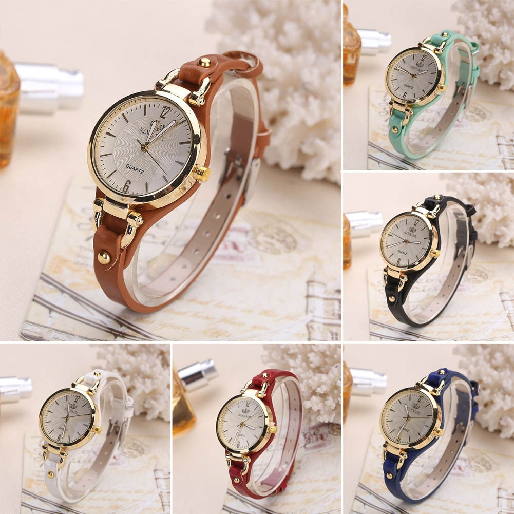 Style and Sass Gold Tone Quartz Watch - 6 Colors