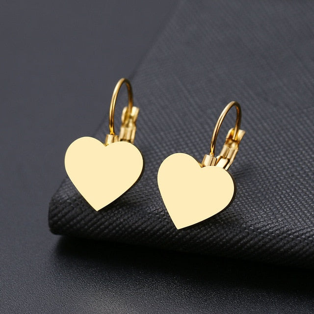 Dainty drop Stainless lever back Earrings - 6 Styles