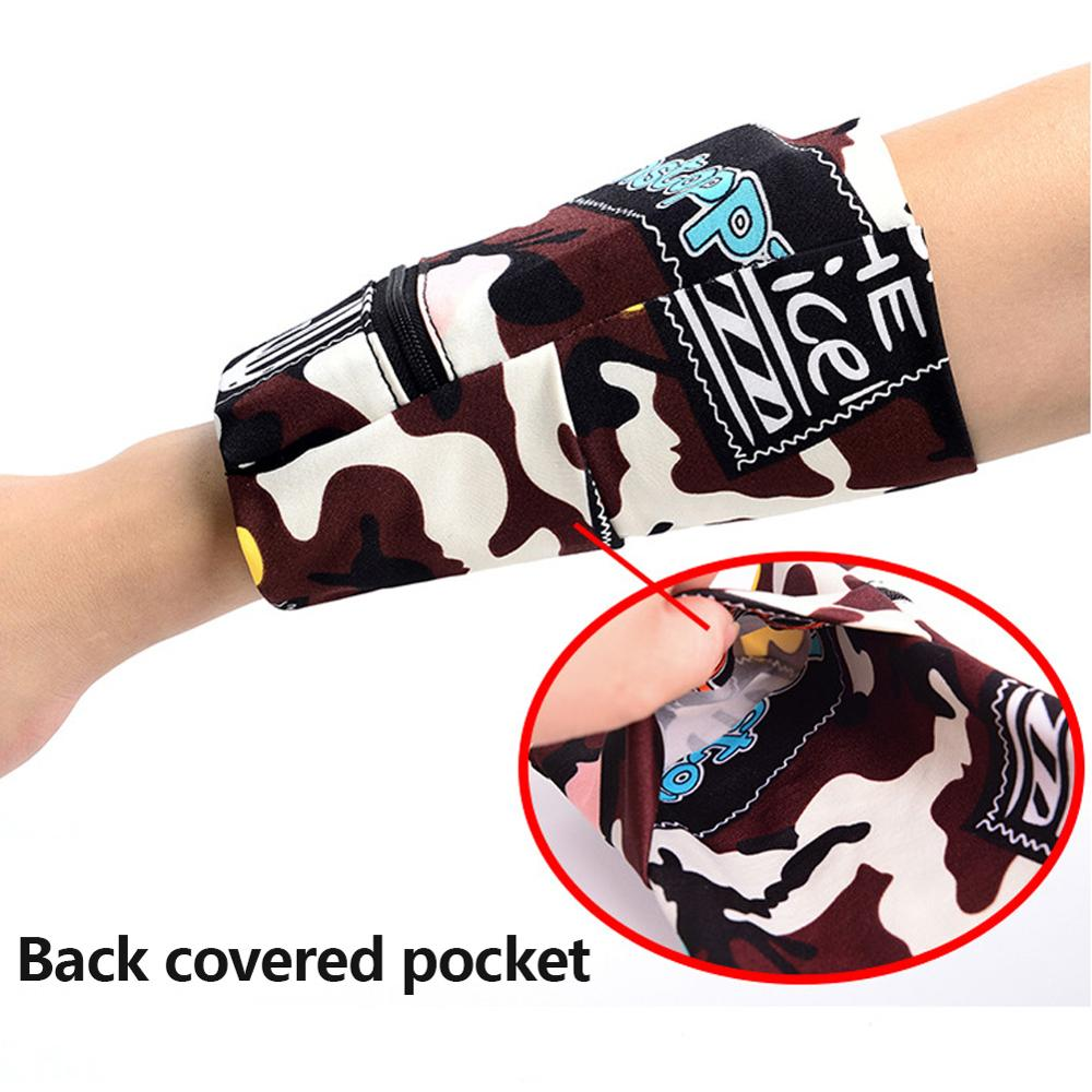 Sport Storage Wrist Wallet - 4 Colors