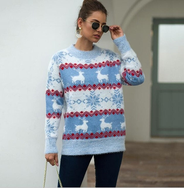 Nordic Snow Sweater -  S-XL - 4 Colors