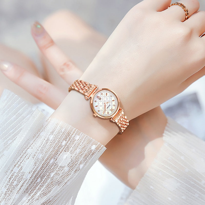 Quartz Golden Elegance Watch