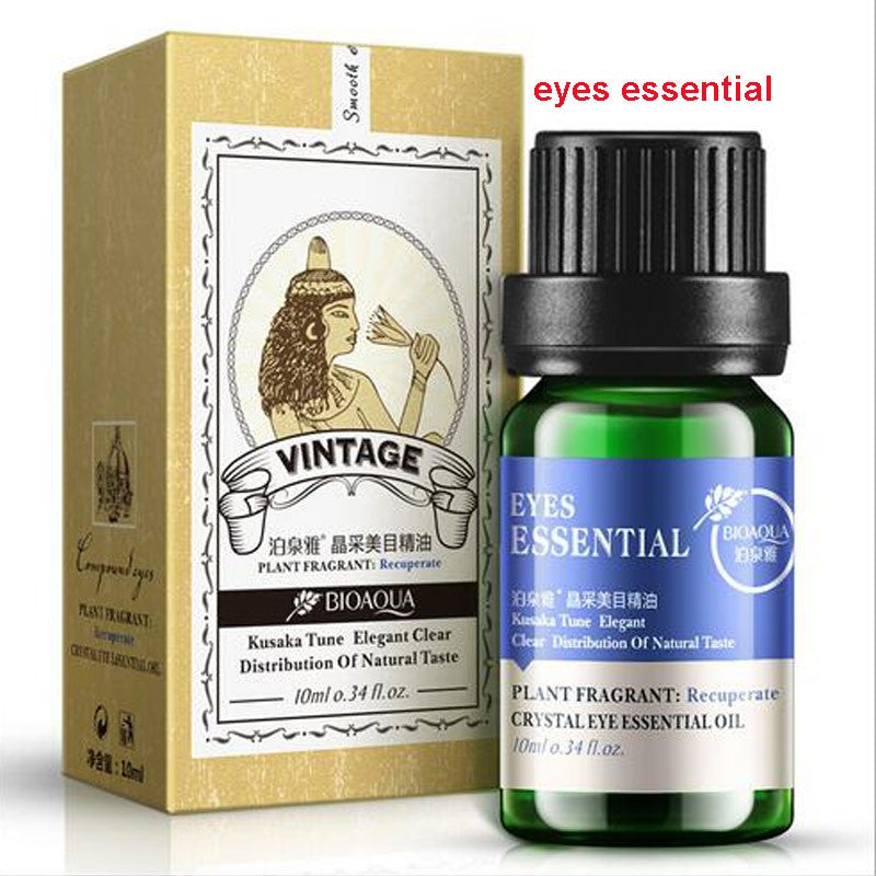 Plant Essential Oil Compound Hydrating Facial-beauty Oil in Lavender, Rose, Tea Tree and Eye Oil