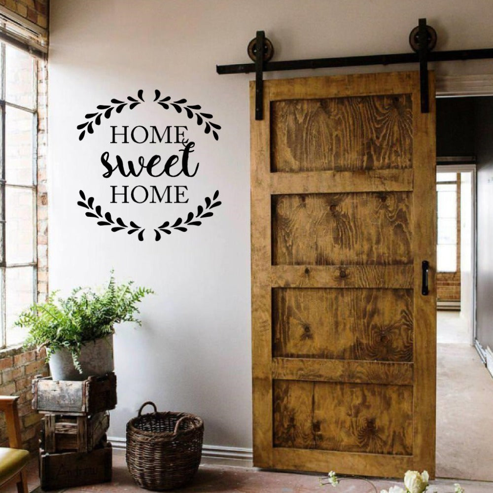 Home Sweet Home Quote Vinyl Wall Sticker 2 sizes