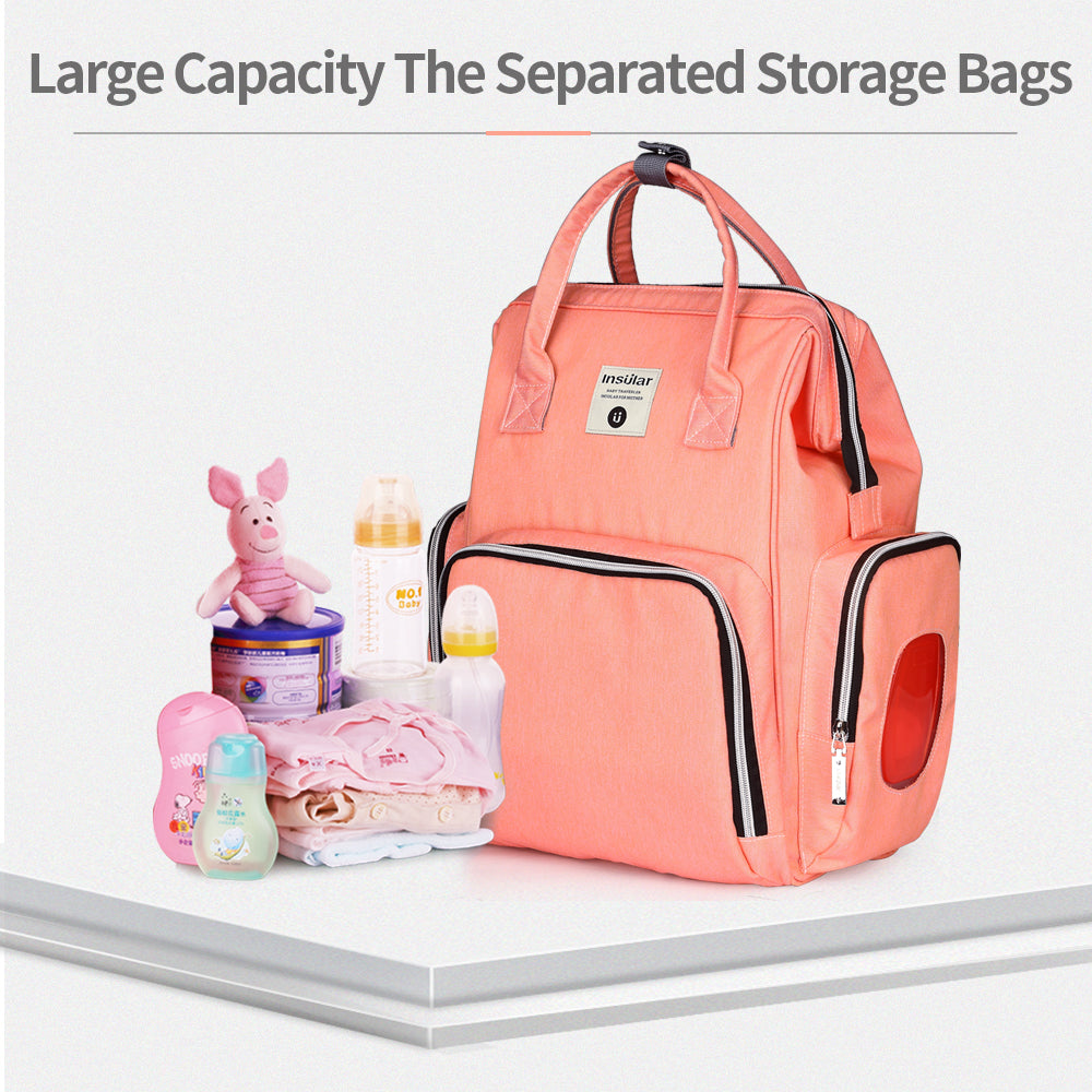 Omega Baby Diaper Backpack Bag - 8 Colors