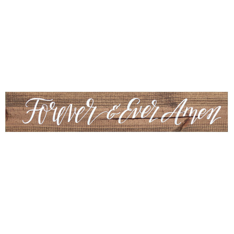 Forever & Ever Amen Vinyl Wording - 20 Colors (Not sign)