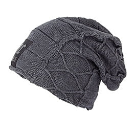 Warm Patterned Skullie Hat - One Size - 6 Colors