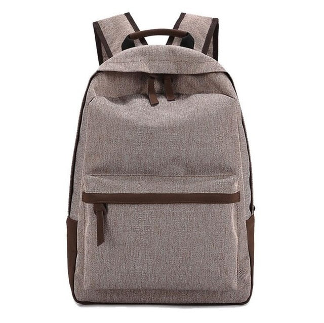 Oxford Backpack Bag - 5 Colors