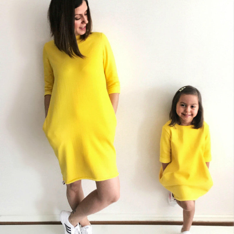 Any Day A Sunny Day - Mother & Daughter Dress
