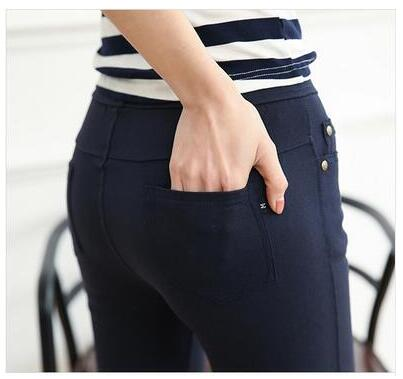 Riveting High Waist Stretch Jeans - 3 Colors - S-6XL
