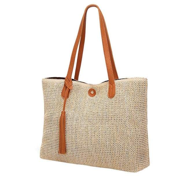 Siesta Keys Woven Straw Bag Natural Bag - 4 Colors