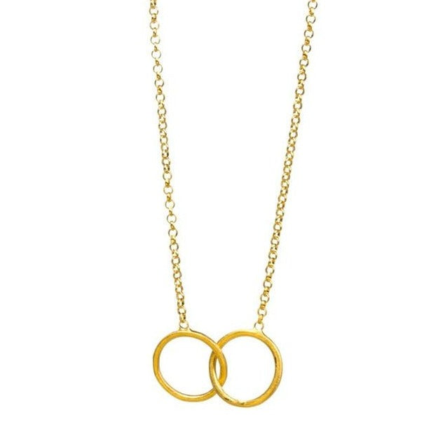 Good Karma Necklace - Gold / Silver plated