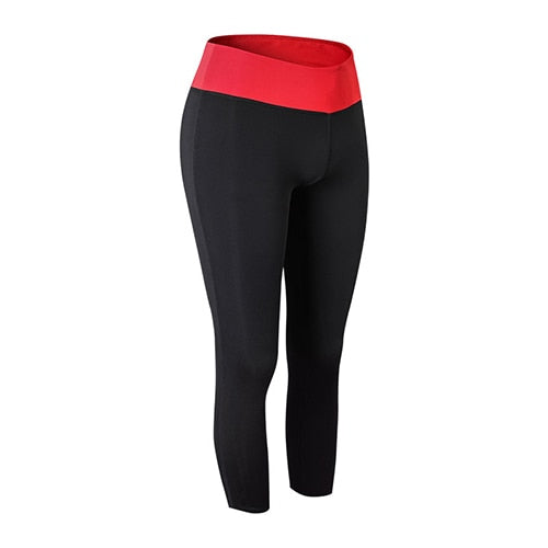 Mid Capri Yoga Pants - S-2XL - 3 Colors
