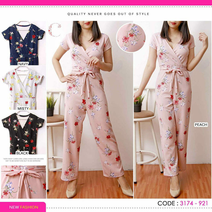 Flower jumpsuit 3174-921
