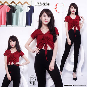 Self tie top 173-954