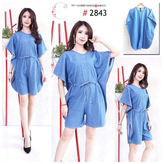 Denim batwing 2843