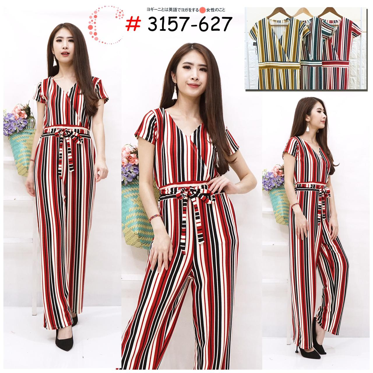 Stripes jumpsuit 3157-627