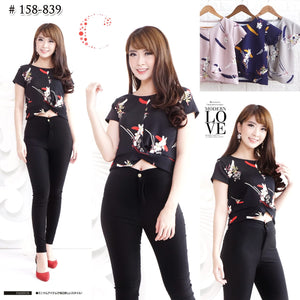 Cross croptop 158-839
