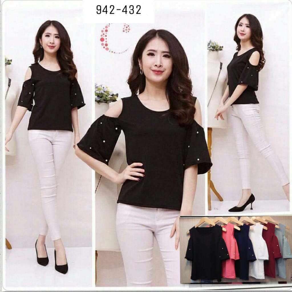 Shoulder Pearl top 942-432