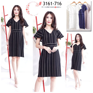 Stripes dress 3161-716
