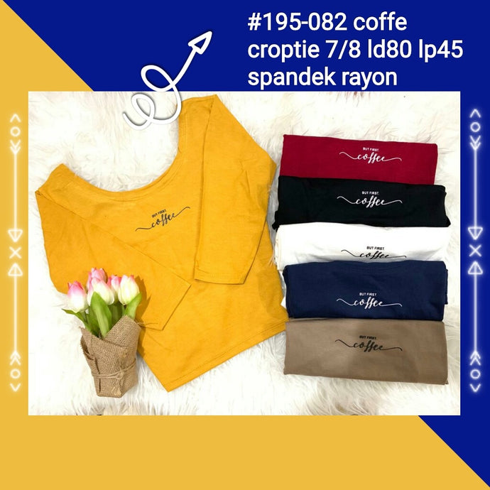 195-082 coffee crop tee