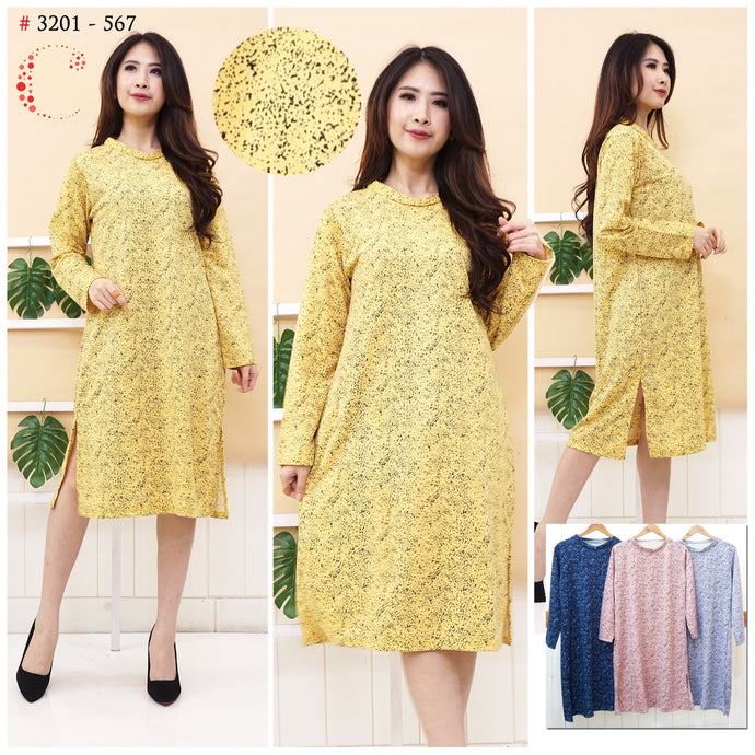 Dress tunik jumbo 3201-567