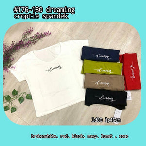 176-180 dreaming croptee
