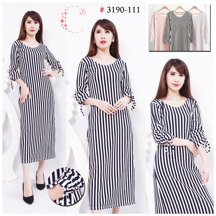 Stripes Longdress 3190-111