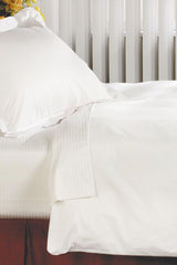 200 Thread Count Pillow King Sham, White