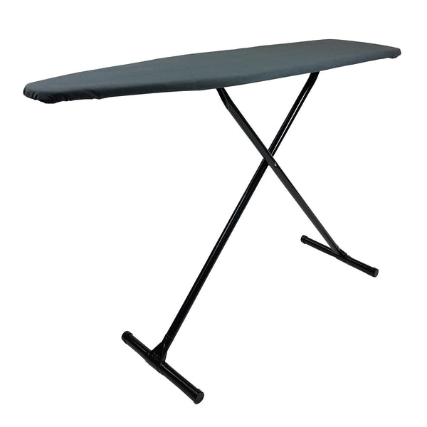 Registry® Full-Size T-Leg Ironing Board, Charcoal/Black