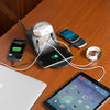 iHome Charging Hub with Qi Wireless Charging Pad