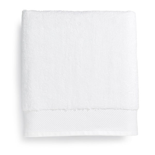 "Tesino® 100% Ring-Spun 2-Ply Combed Cotton Bath Sheet White, 30"" x 70"""
