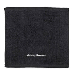 "Makeup Remover Towel Black 13"" x 13"""