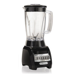Hamilton Beach® 10 Speed Blender, Dishwasher Safe, Black
