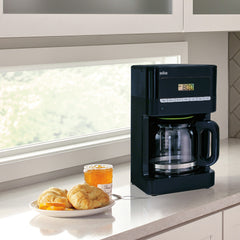 Braun BrewSense 12-Cup Coffeemaker, 2 Colors