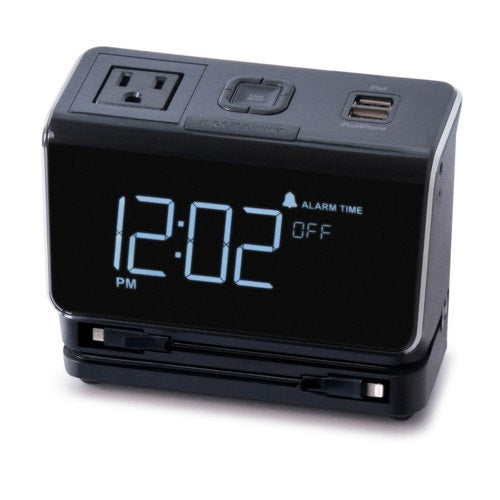 Kube Systems Essentials Multi-Charge Alarm Clock
