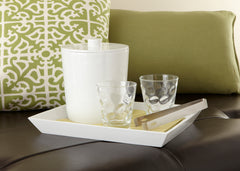 Spa White Amenity/Bar Tray