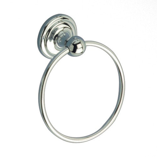 Franklin Brass Jamestown Towel Ring, Polished Chrome