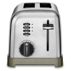 Cuisinart 2 Slice Toaster, Brushed Stainless Steel