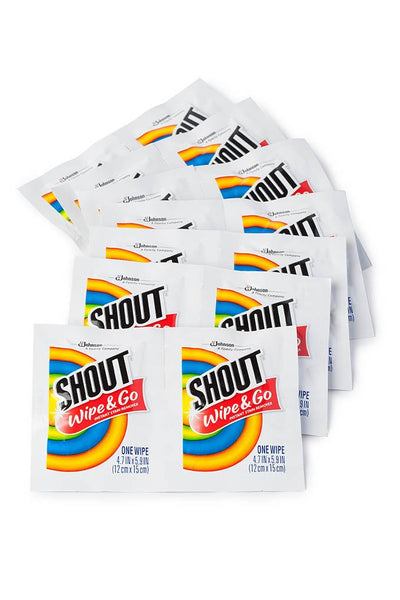 Shout® Stain Remover Wipes