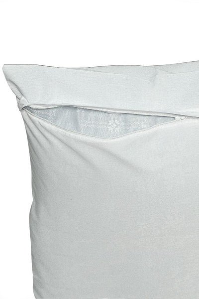 180 Thread Count French-Fold Pillow Protector White