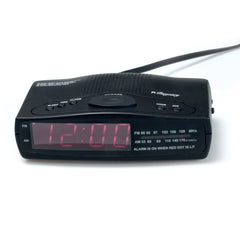 "Registry AM/FM Clock Radio with 0.9"" LED Display"