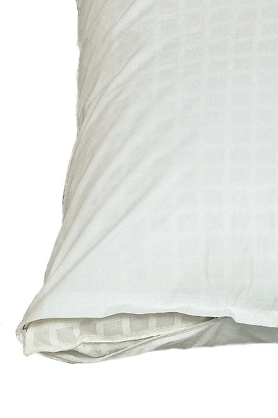 230 Thread Count Pillow Protector White