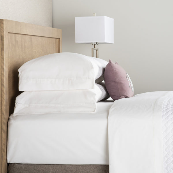 Deluxe 250 Thread Count Flat Sheet, White