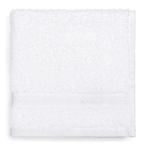"Gold Series Wash Cloth, White, 13"" x 13"""