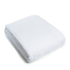 WestPoint Hospitality Sovereign Blankets, Herringbone, White – Reduced Prices