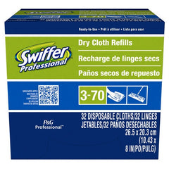 Swiffer Professional Dry Cloth Refills, 10""